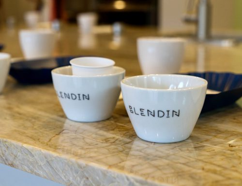 """Cupping"" with BlendIn Coffee Club"